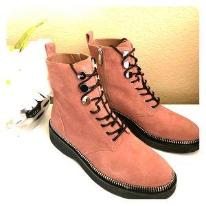 New Michael Kors Tavie combat boots